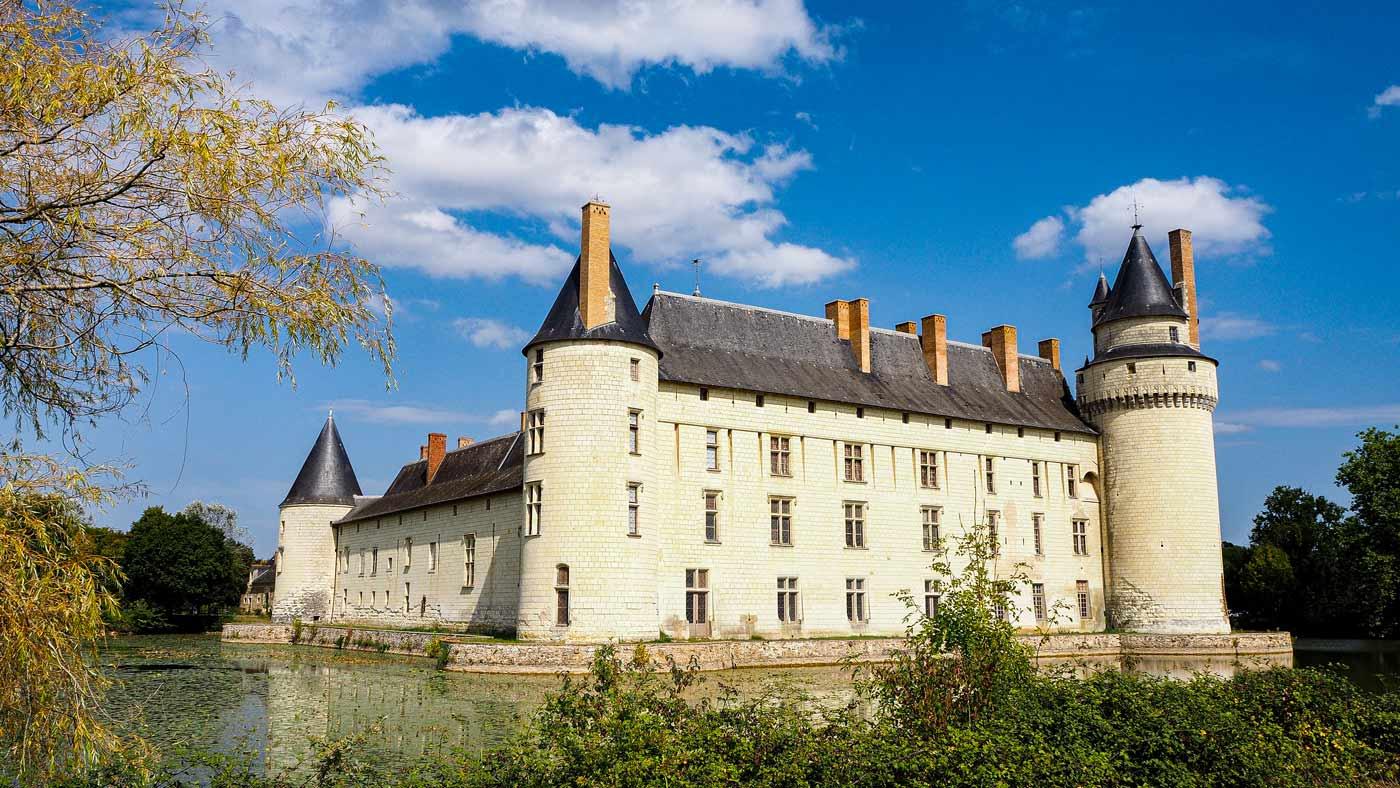 Das wunderschöne Schloss von außen