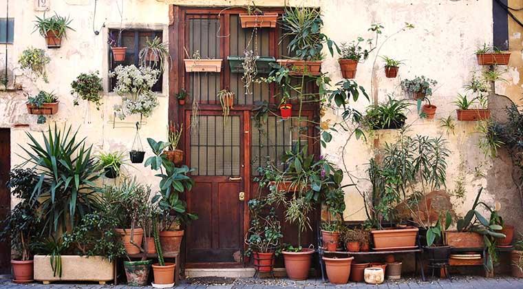 Romantik pur an jeder Ecke im Stadtviertel El Born in Barcelona