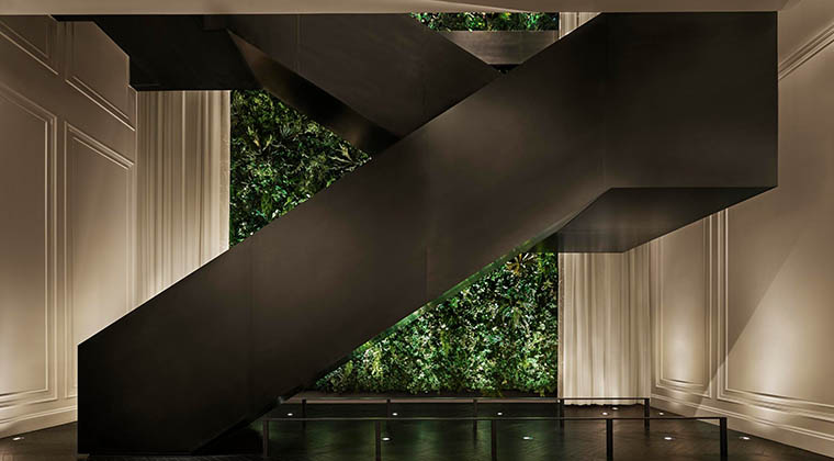 The Times Square EDITION_Lobby Staircase 2_ Credit Nikolas Koenig