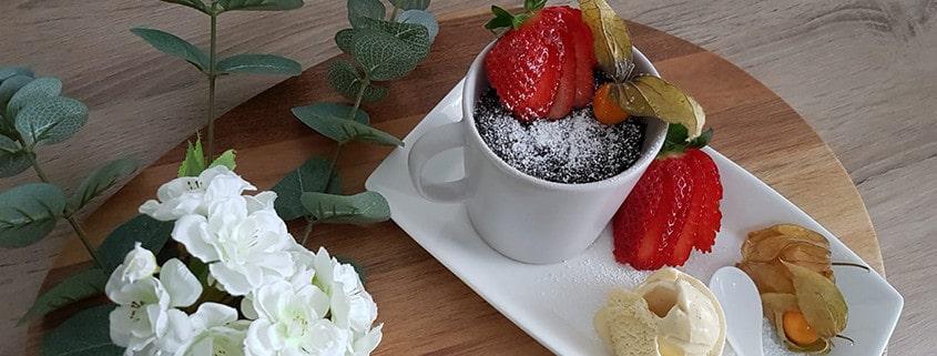 Rezept des Monats März: Schoko-Tassenkuchen