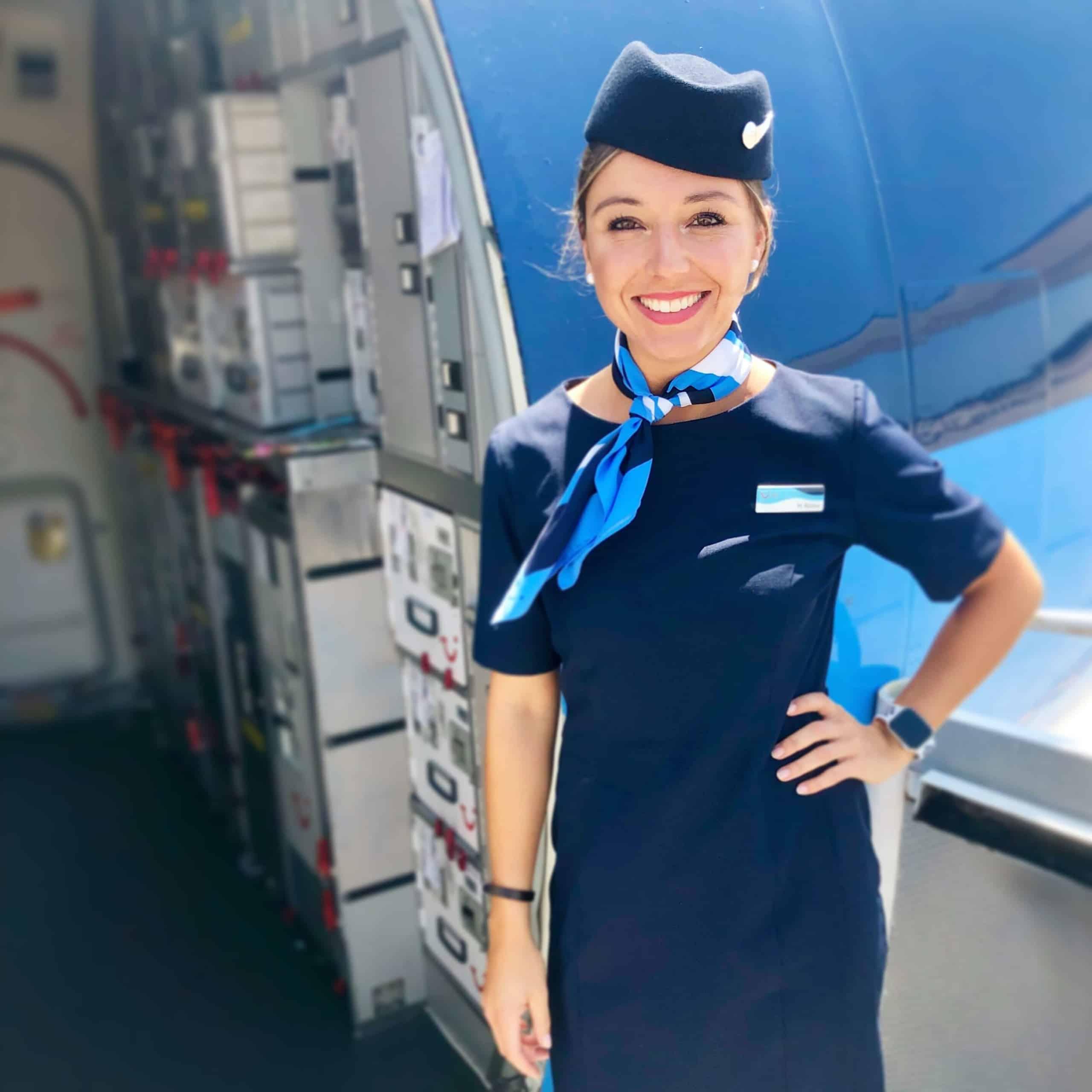 Marsha Flugbegleiterin Instagram-Profil @brekkielover