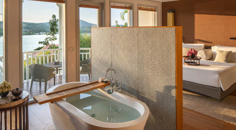 Entspannen könnt ihr in den angenehm eingerichteten Bay View Suites