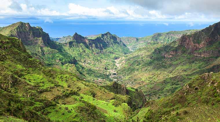 Insel Santiago auf Cabo Verde