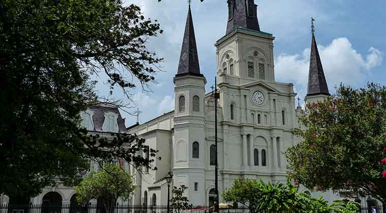 Die St. Louis Cathedral