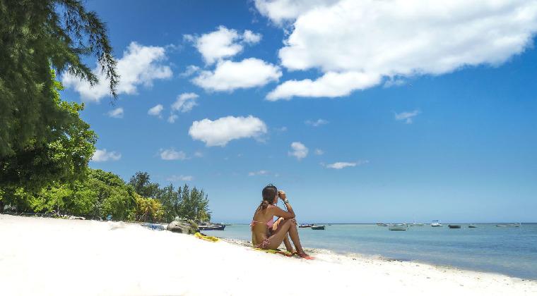 Mauritius Strand Tamarin