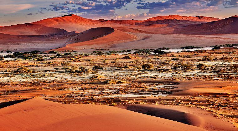 Dünen am Sossusvlei Namibia
