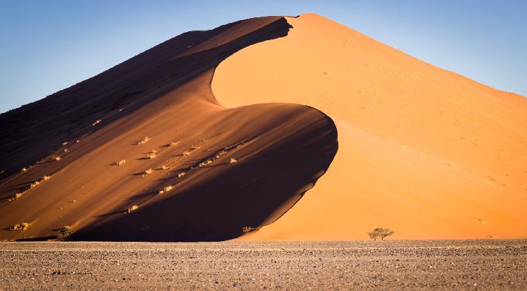 Sandberge am Sossusvlei Namibia