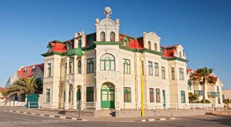 Das Hohenzollernhaus in Swakopmund
