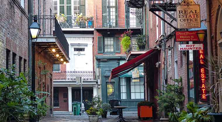 das historische French Quarter