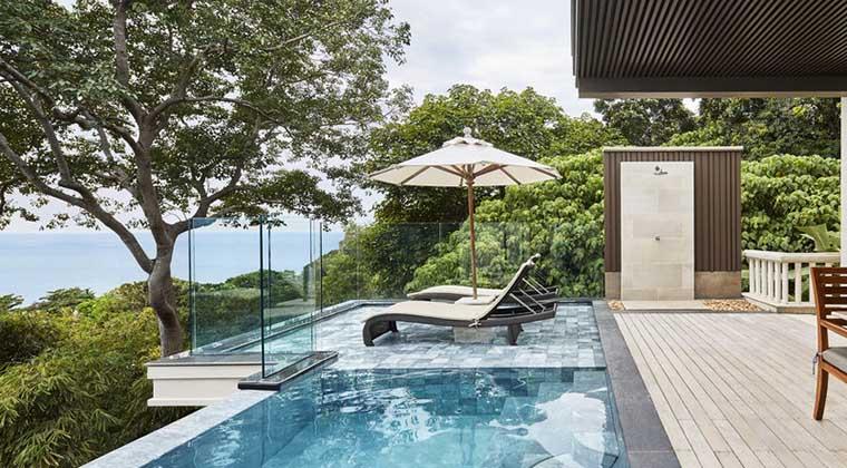 Ocean View Suite im Trisara
