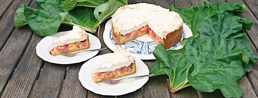 Rezept des Monats Mai: Rhabarberkuchen