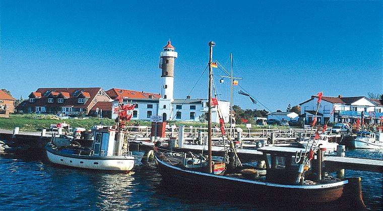 Boote im Hafen Timmendorf