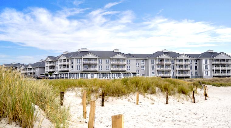 Außenansicht vom Beach Motel Heiligenhafen