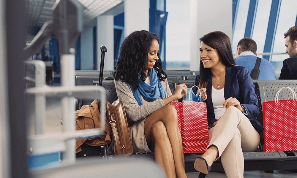Viele Shops wurden in Travel Value & Duty Free umbenannt.