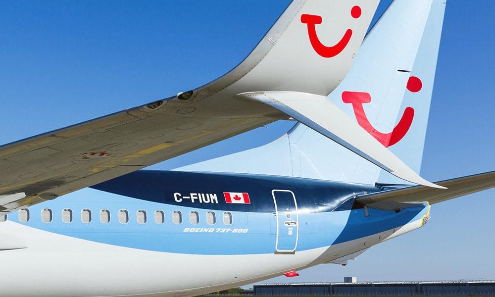Da Nordamerika im Winter Hochsaison hat, verleast TUI fly Teile der Flotte nach Kanada.