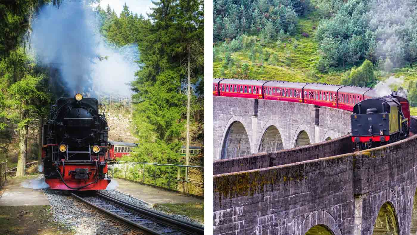 Brockenbahn im Harz oder Jacobite Steam Train in Schottland?