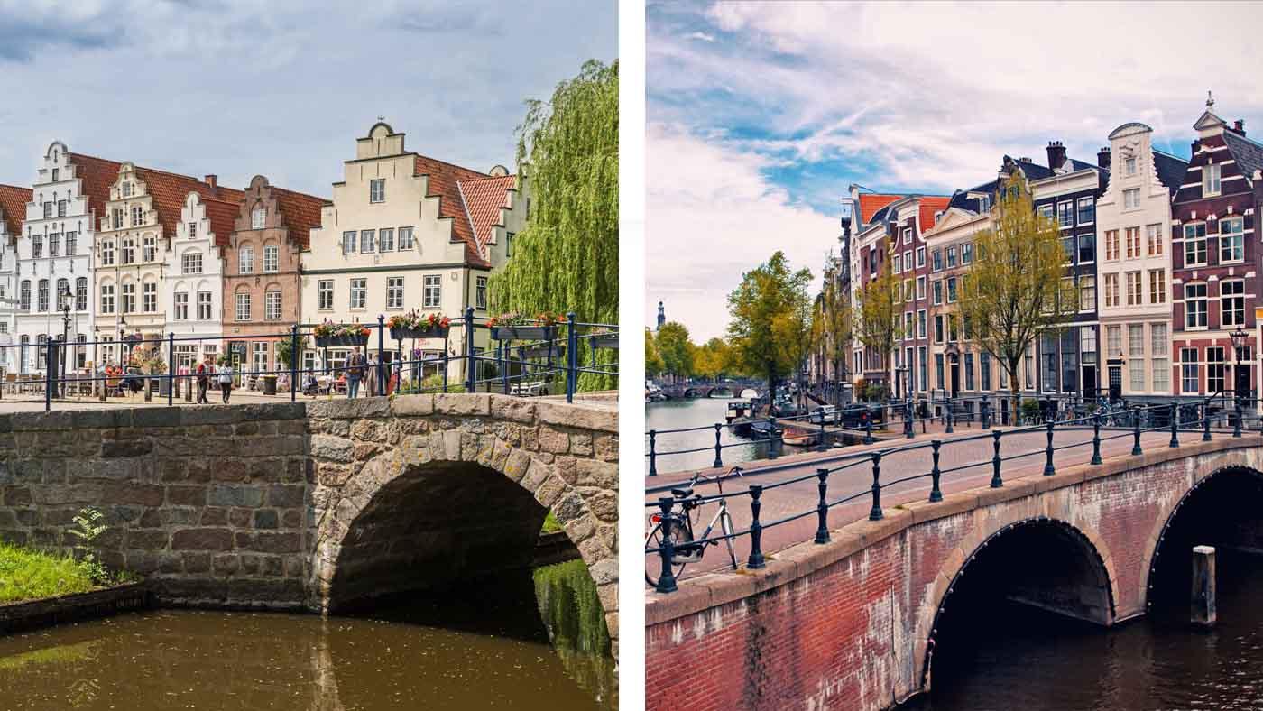 Collage Amsterdam in Deutschland
