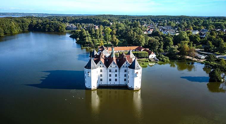 Schloss Glücksburg in Schleswig-Holstein