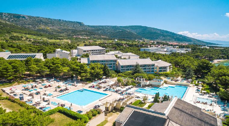 Hotel Bretanide in Kroatien