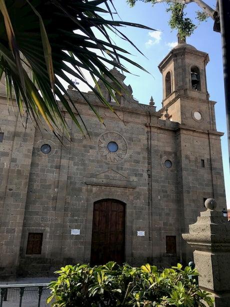 Gran Canaria Kirche in Aguimes