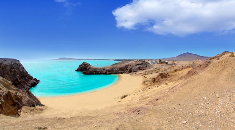 Playa Papagayo Strandblick