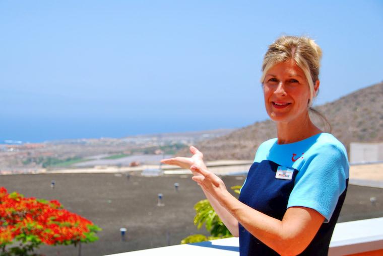 Ulrike TUI Service Delivery Manager Teneriffa