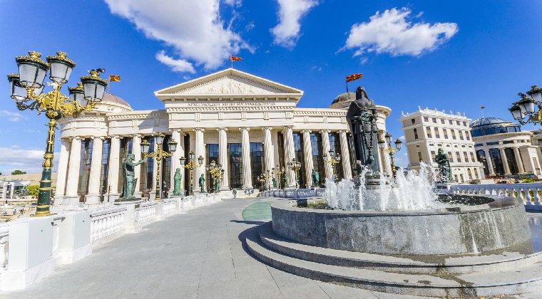 Skopje Museum Mazedonien