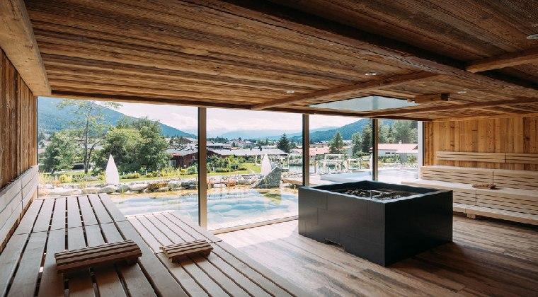 Sauna im Astoria Resort Tirol