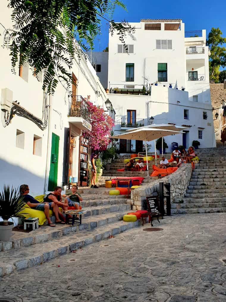 Bar in Dalt Vila Ibiza