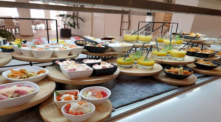 Buffet im Sensatori Ibiza