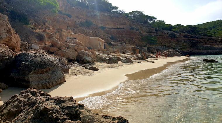 Bucht der Cala Saladeta