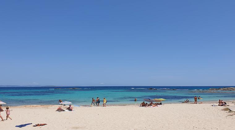 Strand von Es Pujols