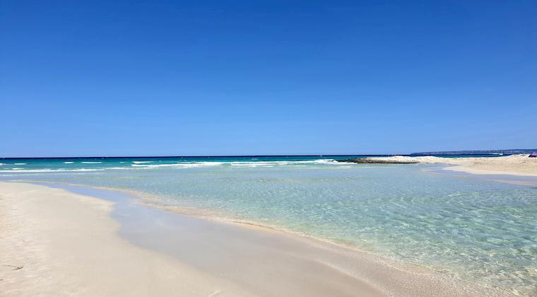 Ses Illetes Strand auf Formentera