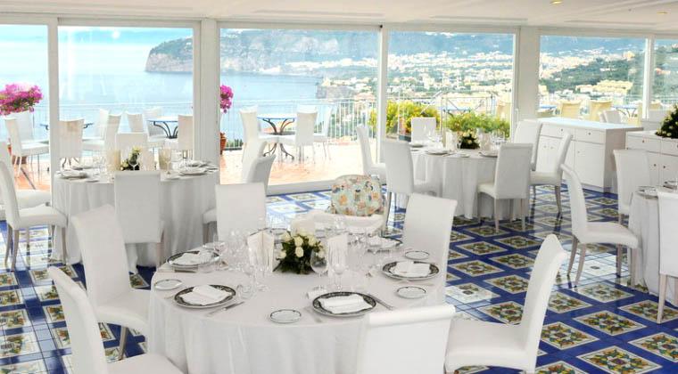 Restaurant im Grand Hotel President