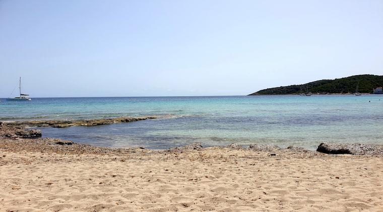Sandstrand am Ses Salines Playa