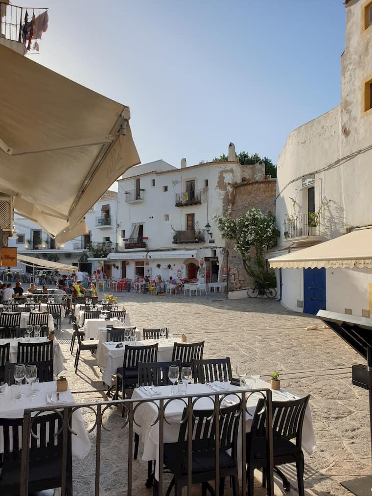Restaurants Dalt Vila Ibiza