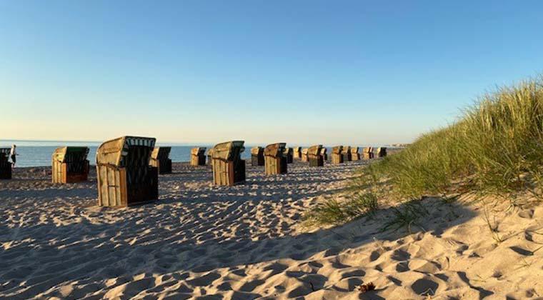 Strandkörbe am Weißenhäuser Strand