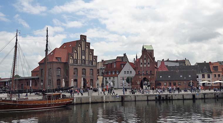 Die Altstadt von Wismar
