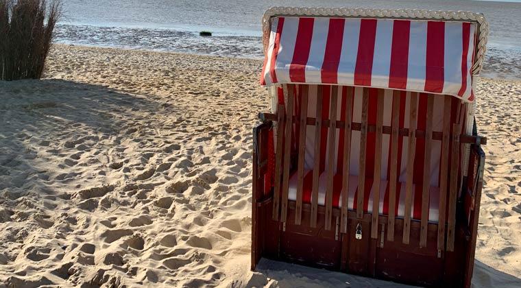 Ein Tag im Strandkorb