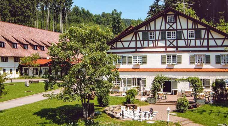 Bauernhof Ferien im Allgäu Hotel Hofgut Kürnach
