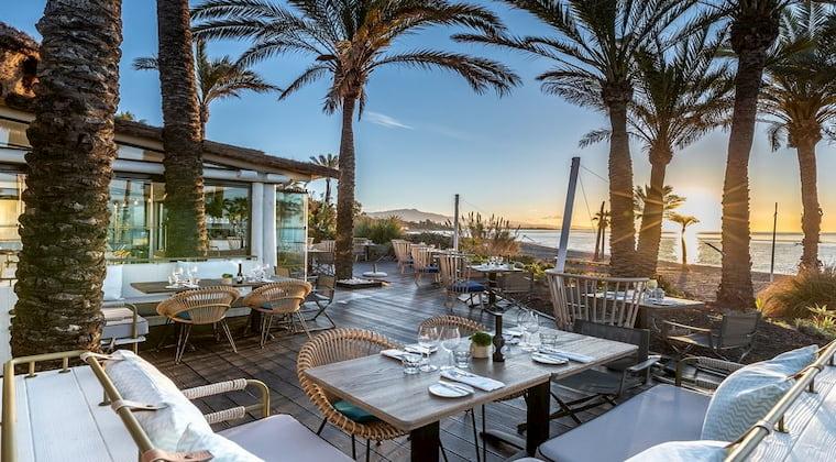 Beach Club im Hotel Kempinski Hotel Bahia Marbella-Estepona