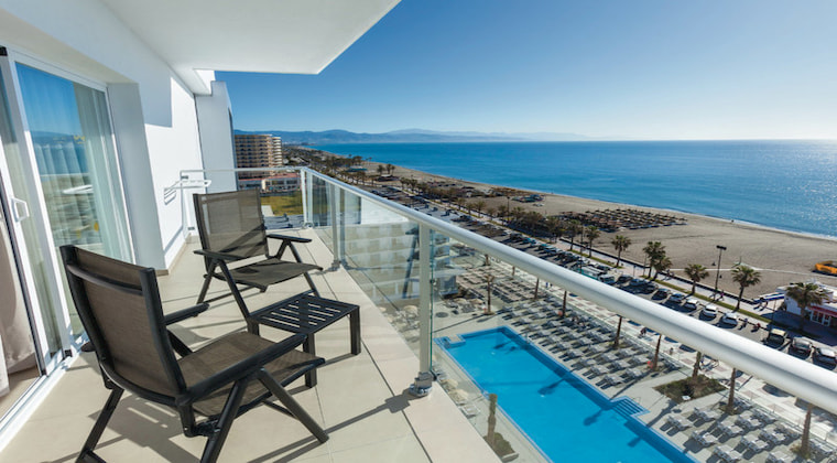 Balkonblick im Riu Costa del Sol