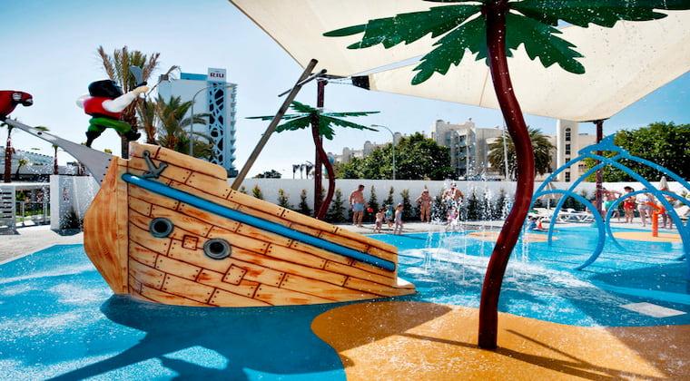 Splashpark im Riu Costa del Sol