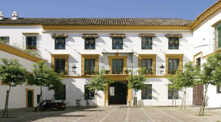 Außenanblick vom Hotel Hospes las Casas del Rey de Baeza
