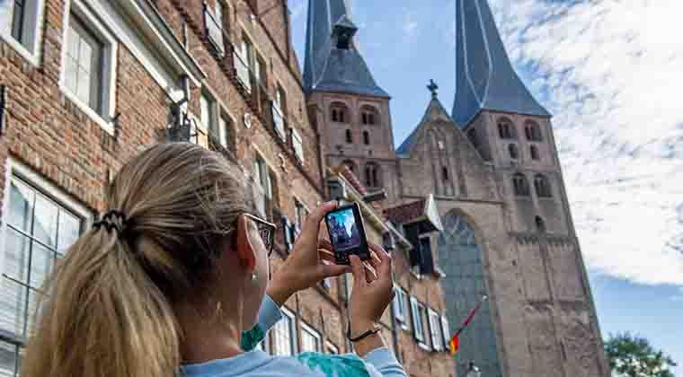 Tourist in Deventer