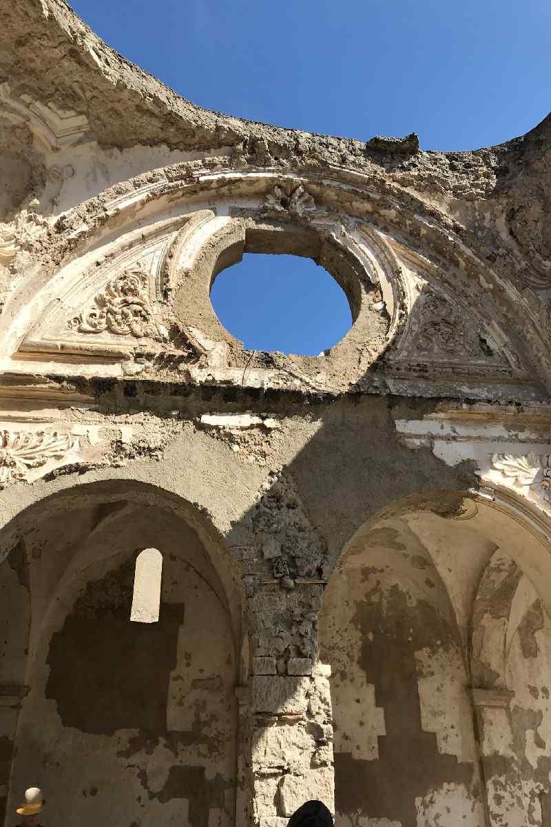 Alte Festung auf der Insel Ischia