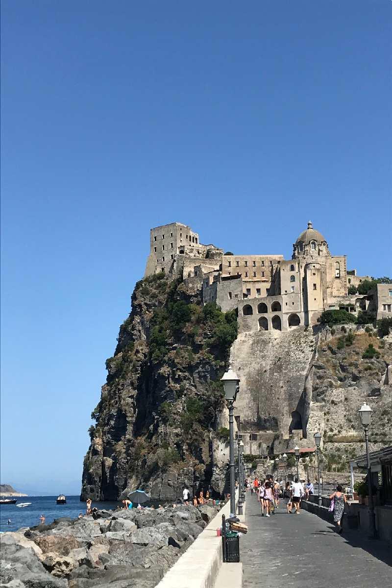 Castello Aragonese Insel Ischia