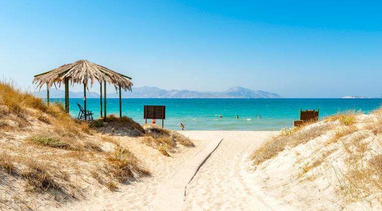 Marmari Strand auf Kos