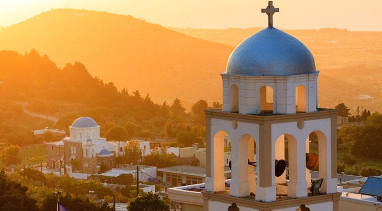 Kos Sonnenuntergang Kirche