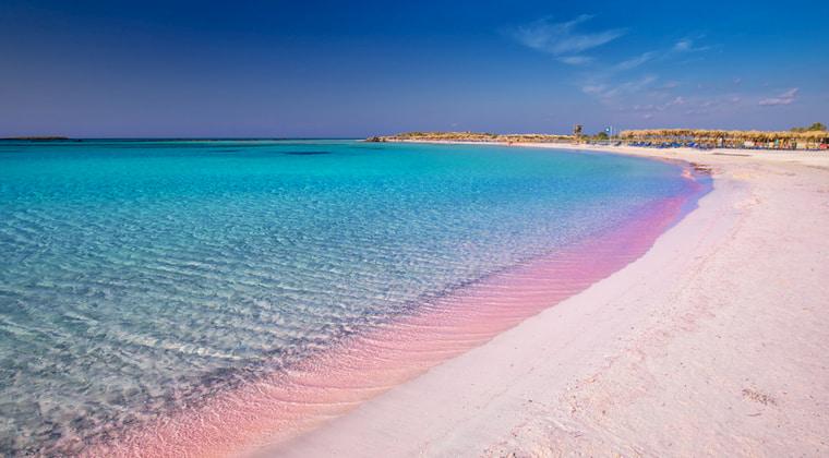 Kreta, der Strand von Elafonissi